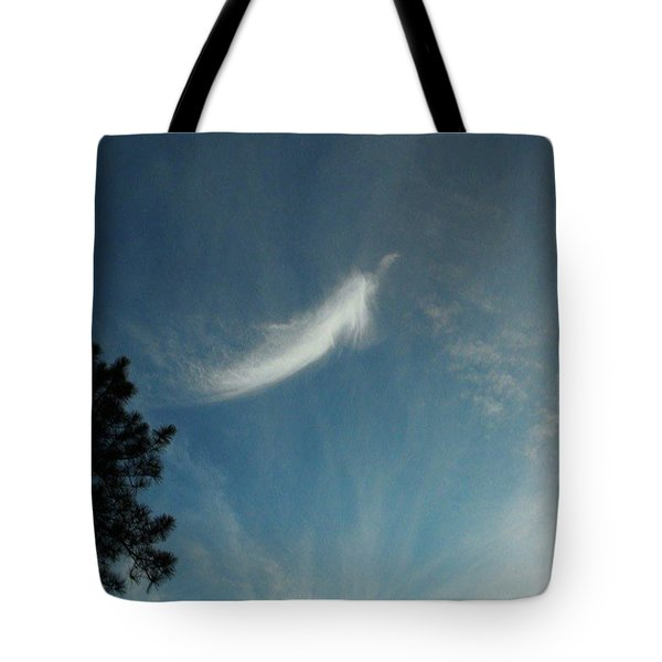 First Angel Appearance Tote Bag