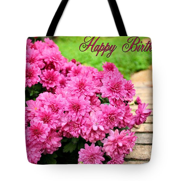 November Birthday Tote Bag by Kristin Elmquist