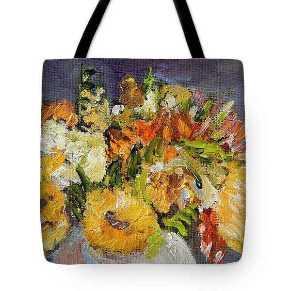 November Bouquet Tote Bag