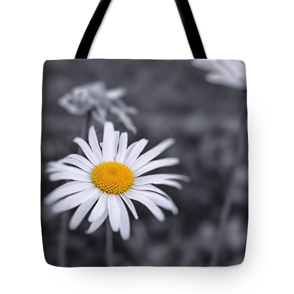 November Daisy Tote Bag