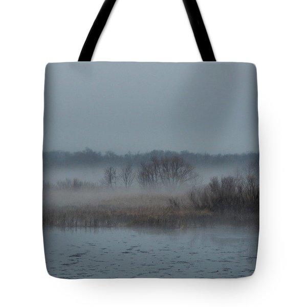 November Mist Tote Bag