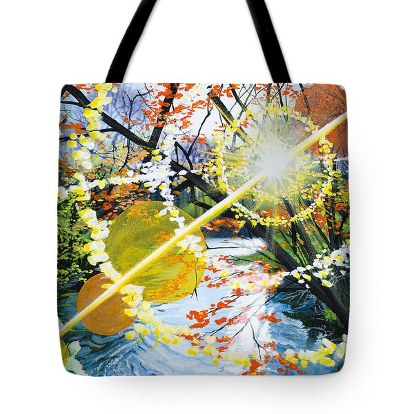 The Glorious River Tote Bag