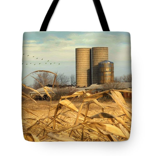 November Winds Tote Bag