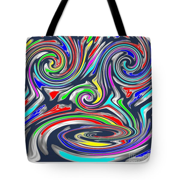 Novino  Clueless In Seattle  Funny Comedy Cartoon Background Designs  And Color Tones N Color Shades Tote Bag