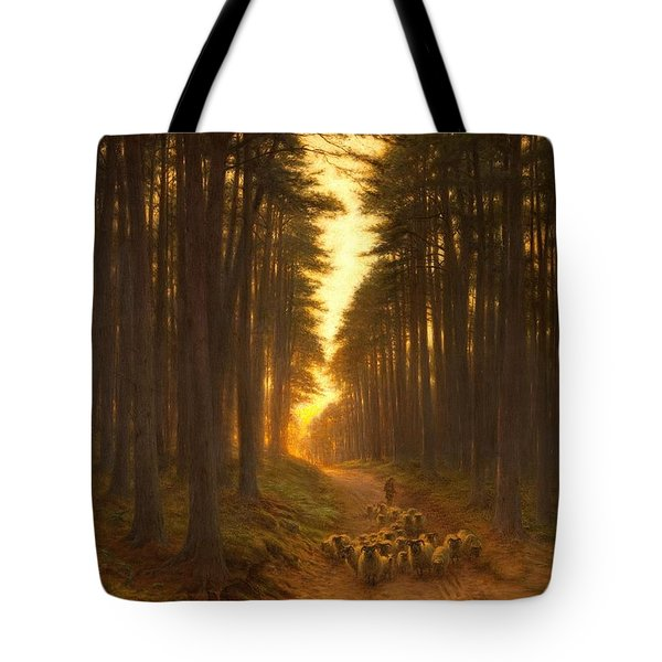 Now Came Still Evening On, Circa 1905 Tote Bag
