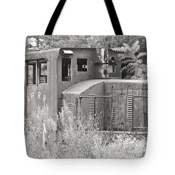 Nprr's Old Engine Number 40 Tote Bag
