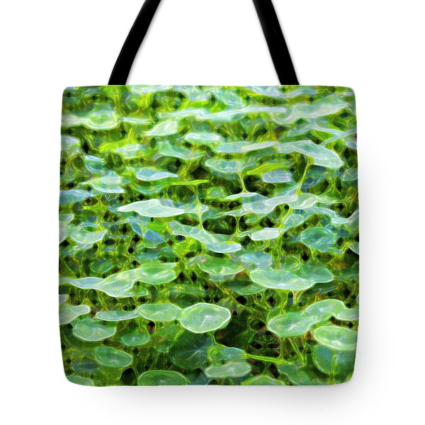 Nuanced Nasturtium Tote Bag by Joe Schofield