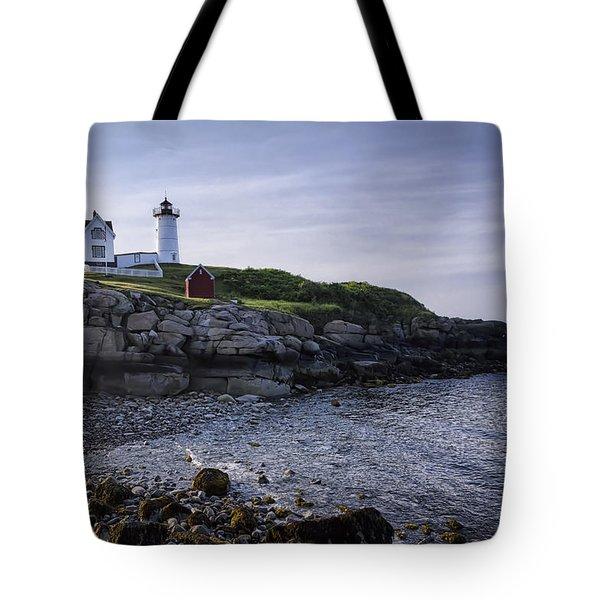 Nubble Dawn Tote Bag by Joan Carroll