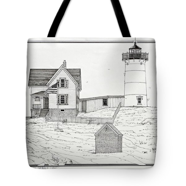 Nubble Light Tote Bag by Ira Shander