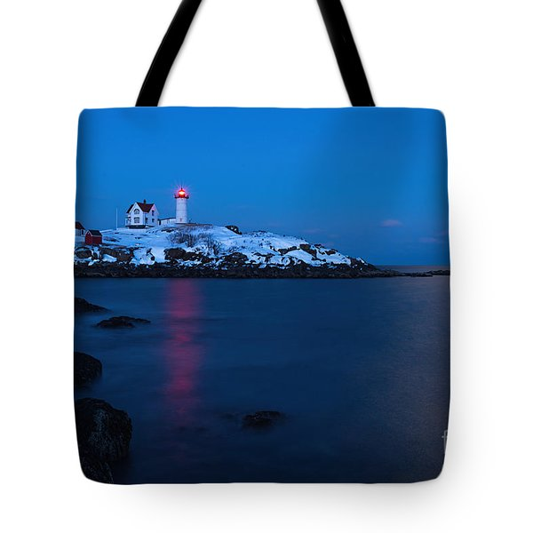 Nubble Light Reflections Tote Bag