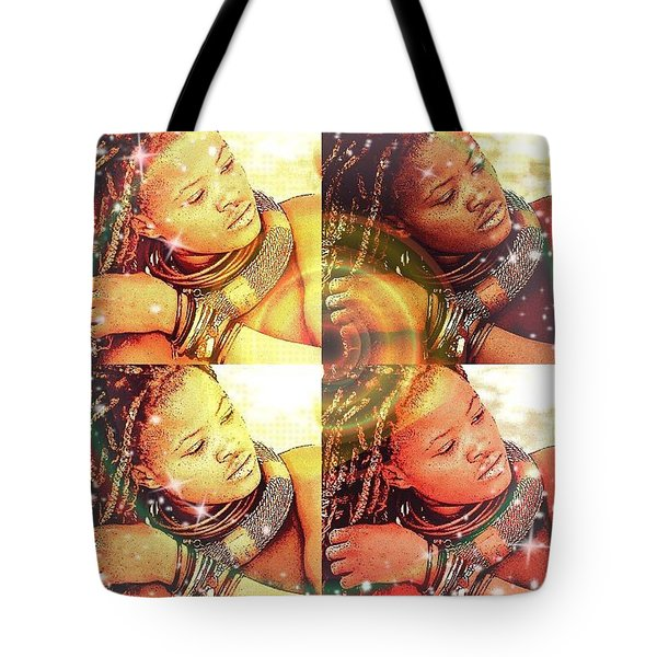 Nubian Beauty Tote Bag