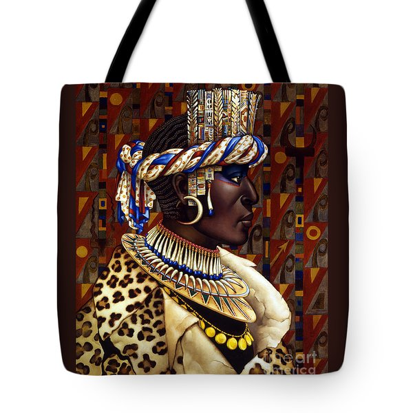 Nubian Prince Tote Bag by Jane Whiting Chrzanoska