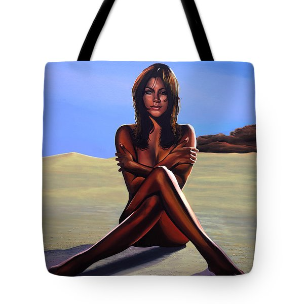 Nude Beach Beauty Tote Bag