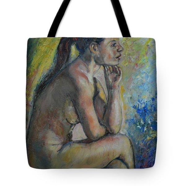 Nude Eva 2 Tote Bag