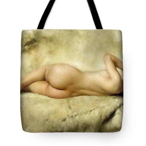 Nude Tote Bag by Giacomo Grosso
