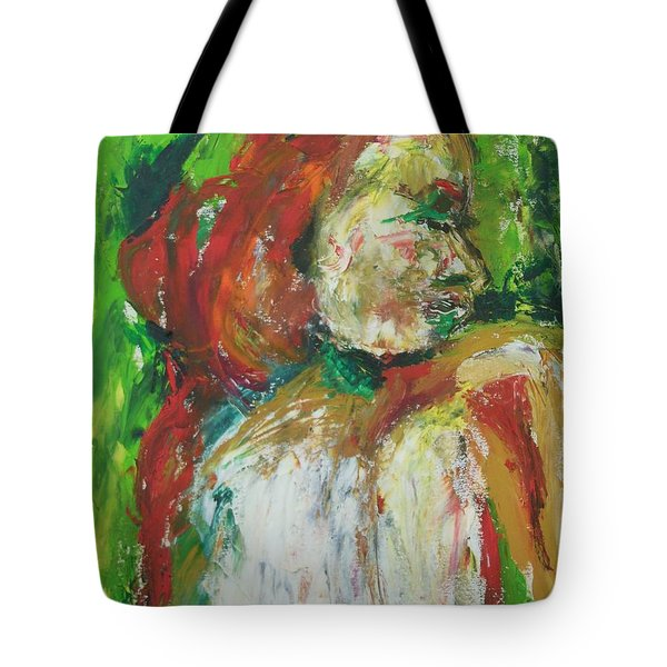 Thinking Of You Tote Bag by Esther Newman-Cohen