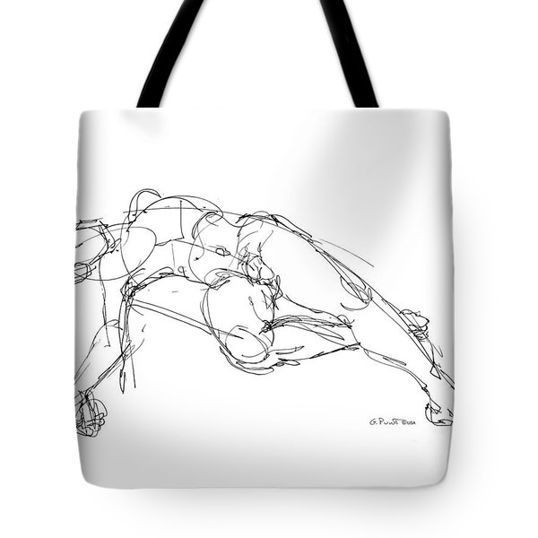 Nude Male Drawings 1 Tote Bag