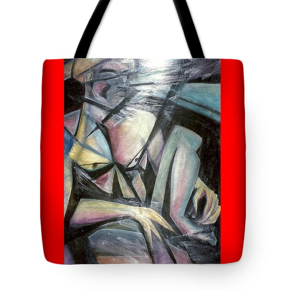 Nude Model In Studio Tote Bag