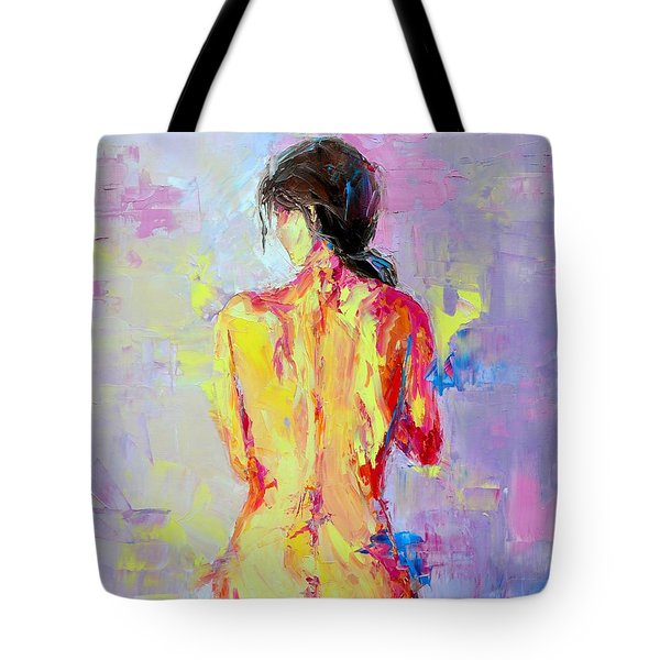 Nude Woman Figure No. 2 Tote Bag