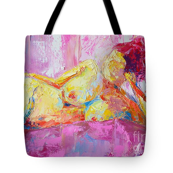 Nude Woman Figure No. 6 Tote Bag
