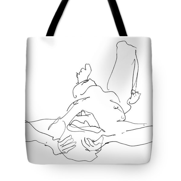 Nude_male_drawings-22 Tote Bag