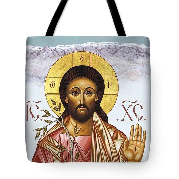 Nuestro Salvador De Las Sandias 012 Tote Bag by William Hart McNichols