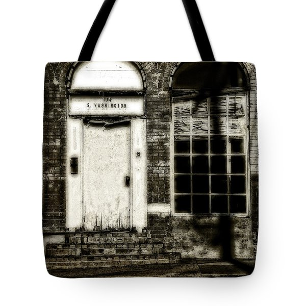 Number 104 Tote Bag by Mark Alder