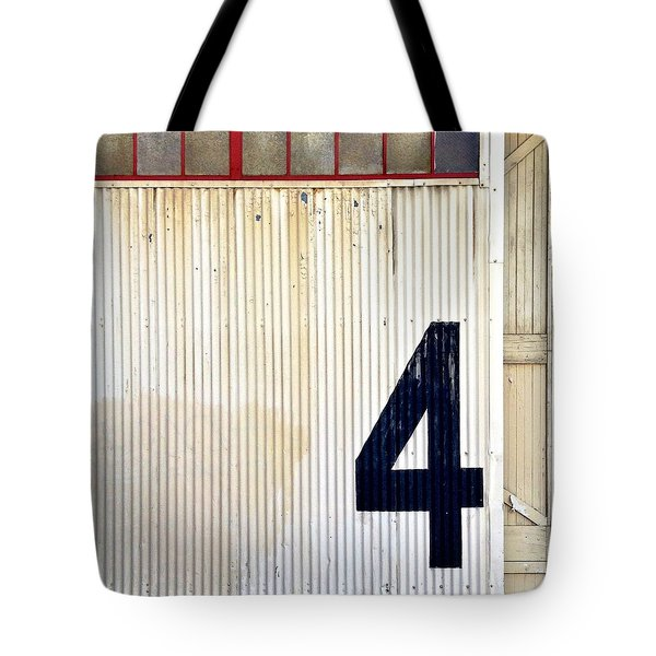 Number 4 Tote Bag