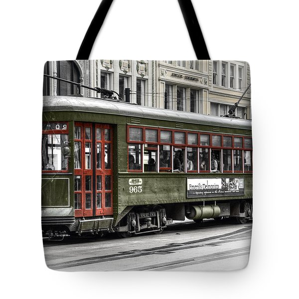 Tote Bag featuring the photograph Number 965 Trolley by Tammy Wetzel