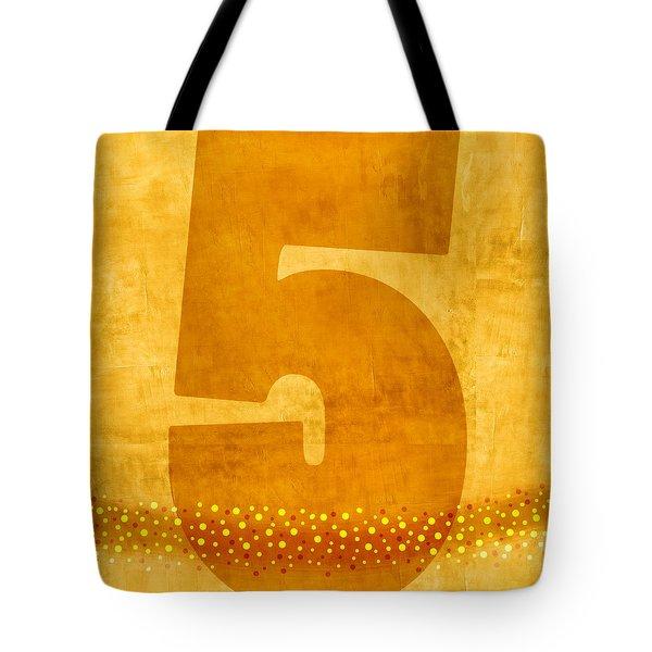 Number Five Flotation Device Tote Bag