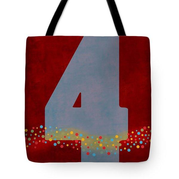 Number Four Flotation Device Tote Bag