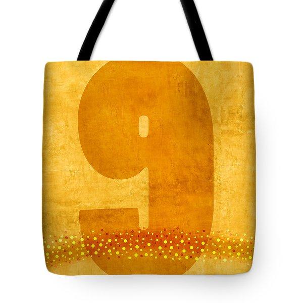 Number Nine Flotation Device Tote Bag