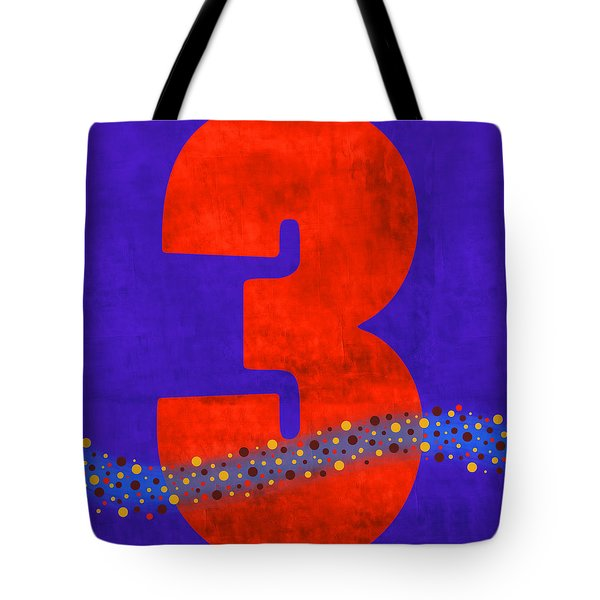 Number Three Flotation Device Tote Bag