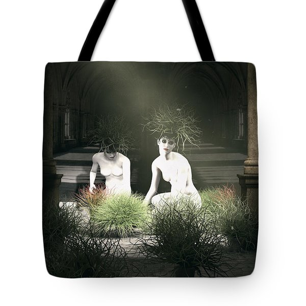 Nuns Of The Future Forest Tote Bag