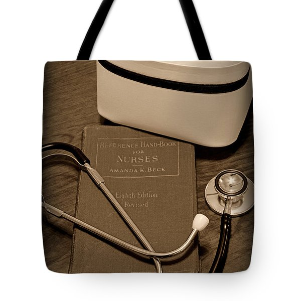 Nurse - The Care Giver Tote Bag by Paul Ward