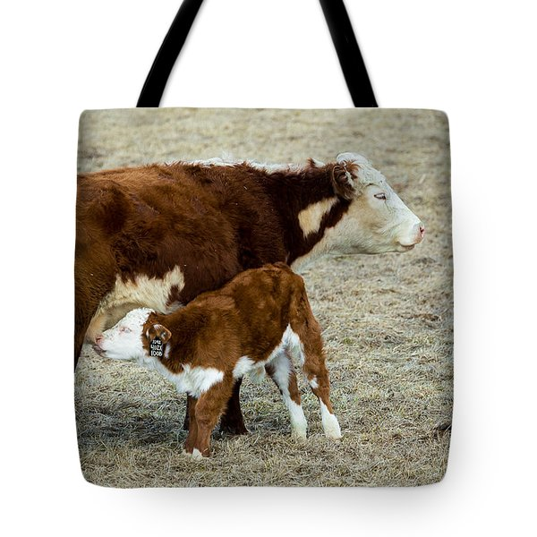 Nursing Calf Tote Bag