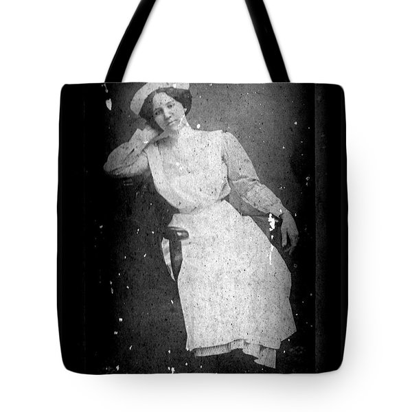 Nursing The Past Tote Bag