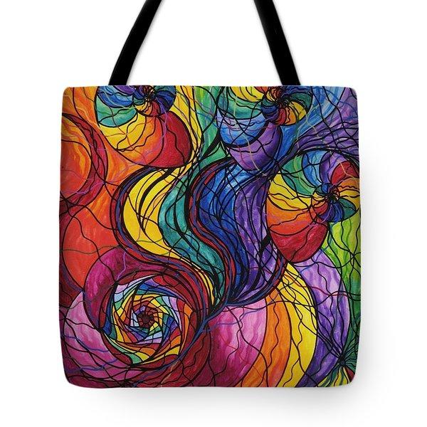 Nurture Tote Bag by Teal Eye  Print Store