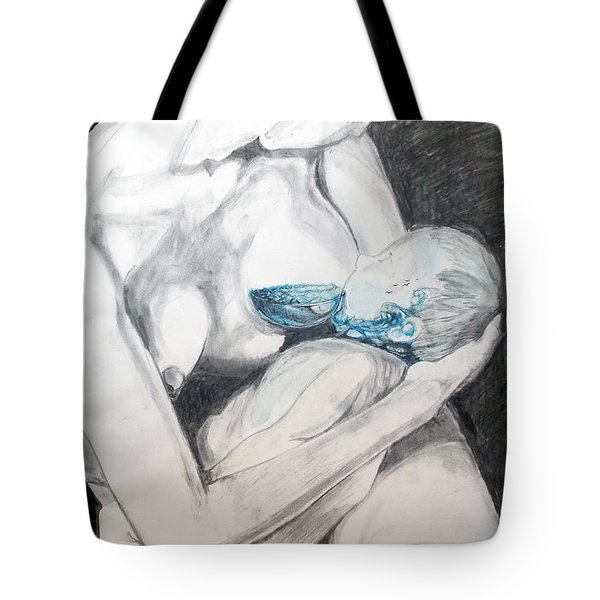 Nurturing The Sea Tote Bag