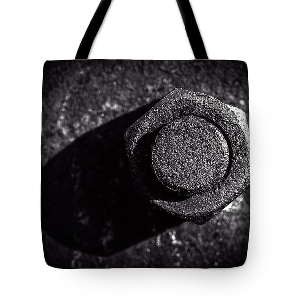 Nut And Bolt Tote Bag by Bob Orsillo