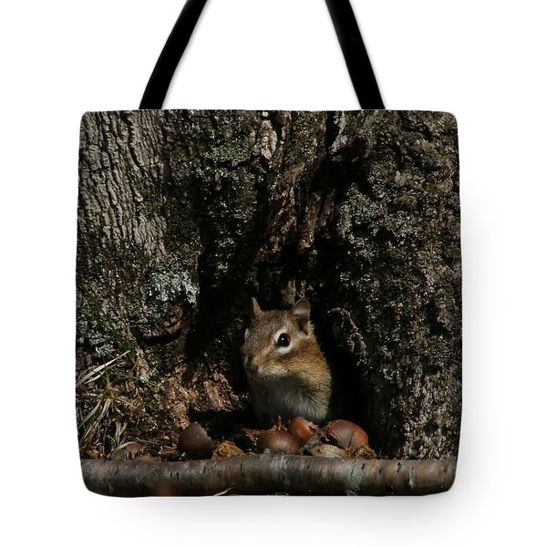 Nut Therapy  Tote Bag by Neal Eslinger