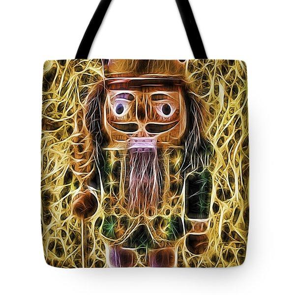 Nutcracker Glow Tote Bag