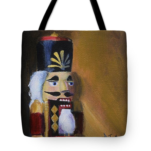 Nutcracker II Tote Bag by Donna Tuten