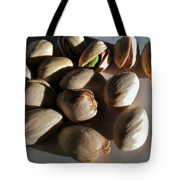 Tote Bag featuring the photograph Nuts by Bill Owen