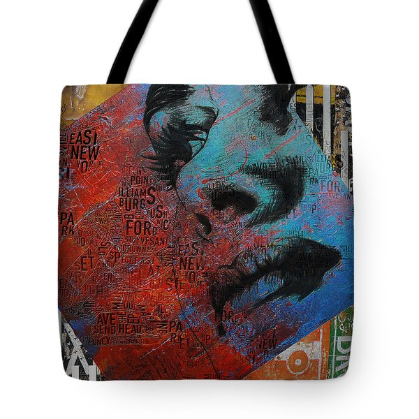 Ny City Collage - 8 Tote Bag by Corporate Art Task Force