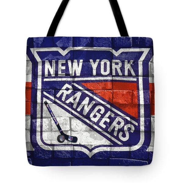 Ny Rangers-2 Tote Bag