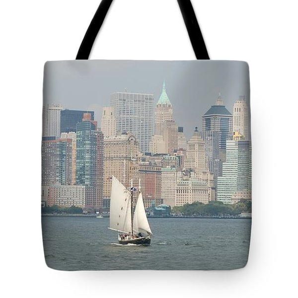 Ny City Skyline Tote Bag