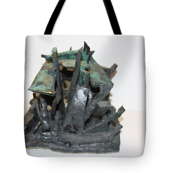 Ny Steel Tote Bag by Jean Macaluso