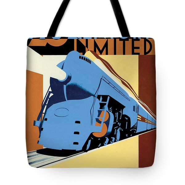 Ny To Chicago Tote Bag