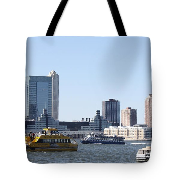 Tote Bag featuring the photograph Ny Waterways by John Telfer